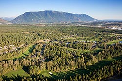 Meadow Lake Golf Course Columbia Falls Summer Aerial