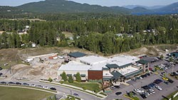 The Whitefish Wave Athletic Center Whitefish, MT Fall Aerial