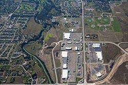 Flathead Community College Kalispell, MT Fall Aerial
