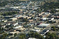Kalispell, Montana Kalispell, MT Summer Aerial