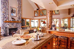 Flathead Lake Large Parcel for sale Woods Bay Summer Interiors