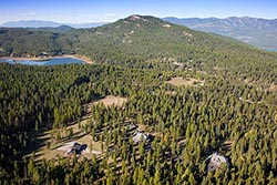 Whitefish, MT Fall Aerial