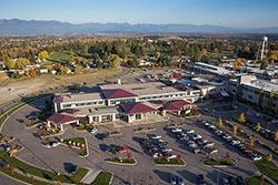 Kalispell Medical Regional Center Kalispell, MT Fall Aerial