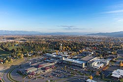 Kalispell Medicial Regional Center Kalispell, MT Fall Aerial