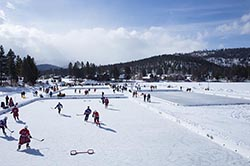 Pond Hockey Classic Foys Lake Kalispell, MT Winter Hockey