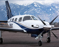 Meridian Airplane at GPI Kalispell, MT Winter Planes