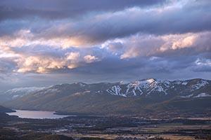 Big Mountain Spring Sunset