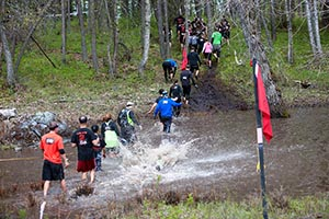 Water Crossing, Spartan Race, Montana