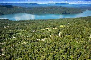 Whitefish Lake View from Iron Horse