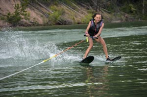 Learning to Water skiing