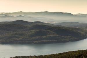 Aerial View of Whitefish Lake
