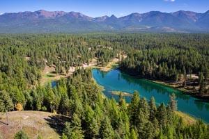 Aerial View of Greyling Lake