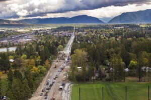Whitefish Highway 93 Construction