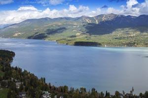 Aerial of Whitefish Lake