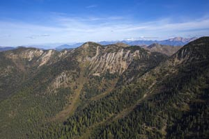 Aerial View of Jewel Basin