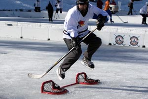 Pond Hockey Jump