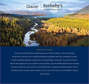 Glacier Sotheby's Ad