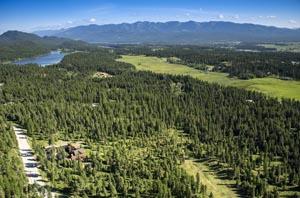 Whitefish Hills Aerial