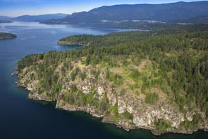 Aerial Photos of Flathead Lake