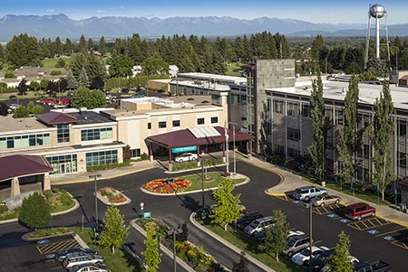 Kalispell Regional Medical Center Aerial