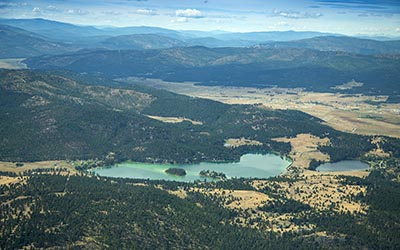 Foys Lake Aerial Image