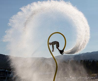 TJ Andrews Flyboard of Montana