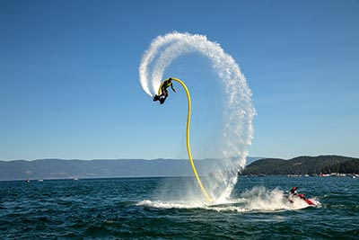 Flyboard of Montana, Pro Rider TJ Andrews