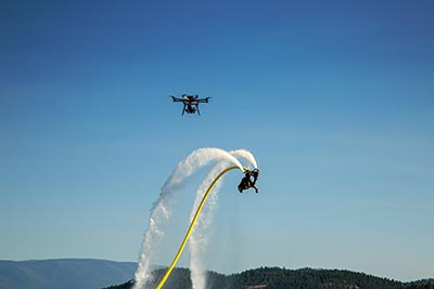 Freefly Alta films Flyboarding