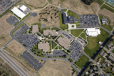Flathead Valley Community College Aerial View