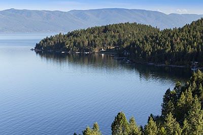 East shore of Flathead Lake