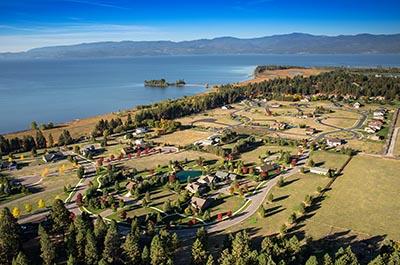 Bigfork Landing, Flathead Lake