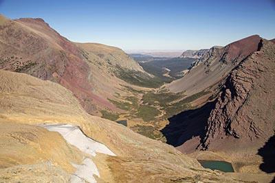 Siyeh Pass, Glacier National Park