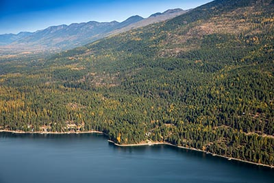 Whitefish Lake and The Whitefish Range