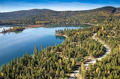 Little Bitterroot Lake Property