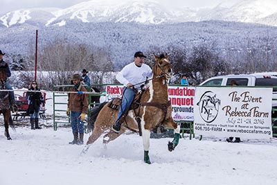 Ski Joring Starting Gate