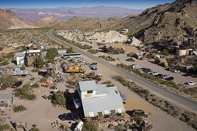 Aerial View Nelson Mine, Las Vegas