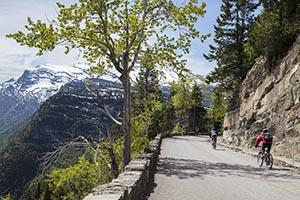 Going to the Sun Road Biking