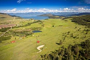 24606 Black Lake Road Aerial Image