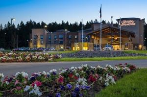 Twilight Shot Whitefish Hampton Inn & Suites
