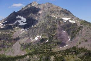 Sperry Chalet and Gunsight Mountain