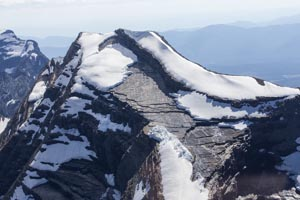 Aerial View of Heavens Peak