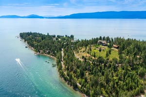 Yenne Point, Woods Bay, Flathead Lake