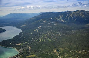 Aerial View of Big Mountain