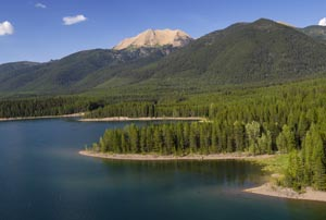 Great Northern Peak, Hungry Horse Reservoir