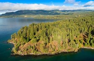 Indian Point, Rollins, Flathead Lake