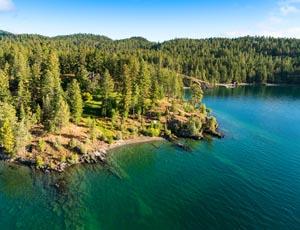Indian Point Flathead Lake