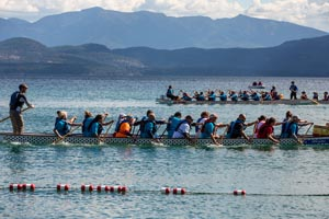 Dragon Boat Races, Lakeside, Montana