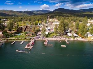 Dragon Boat Races, Lakeside, Montana