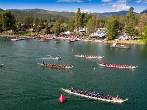 Dragon Boat Races, Flathead Lake