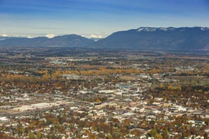 Aerial View of Kalispell